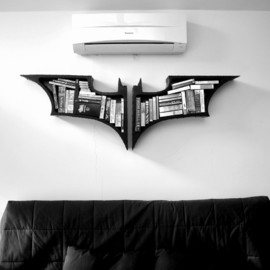 FahmiSani - Dark Knight Bookshelves