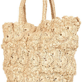 TOPSHOP - TOPSHOP Crochet Shopper Bag Photograph