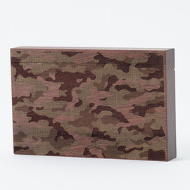 CEMENT PRODUCE DESIGN, Card Chest - camouflage / walnut