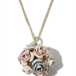 Accessorize - Flower Ball Pendant