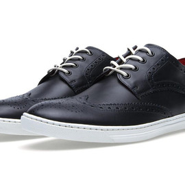 COMME des GARCONS JUNYA WATANABE MAN, Tricker's - Leather Wingtip Sneaker