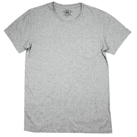RRL - Real Heather Gray Pocket T