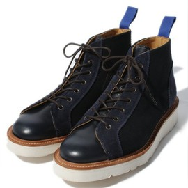 Tricker's - Tricker's×Hummingbirds' hill navy monkey boots