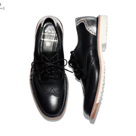 uniform experiment - F.O.G.WING TIP SHOES