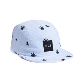 HUF - EMBROIDERED PLANTLIFE VOLLEY (Blue Oxford)