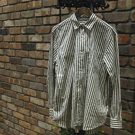 COMOLI - stripe shirts