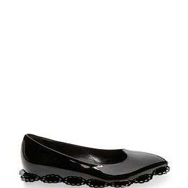Simone Rocha - SS2015 Scalloped Patent Leather Flat