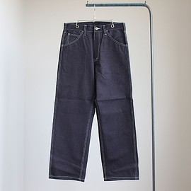 COMME des GARCONS HOMME - WIDE STRAIGHT CHINO DENIM PANTS #indigo