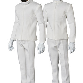 MEDICOM TOY - RAH DAFT PUNK(WHITE SUITS Ver.)