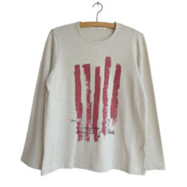 Y's for living - 【a part of me】フォレストプリント 長袖Tシャツ