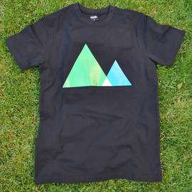 TeesAndChips - The colorful mountains model  of TeeAngles series.by Tees & Chips