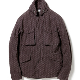 nonnative - TROOPER JACKET - COTTON RIPSTOP by LIBERTY OVERDYED