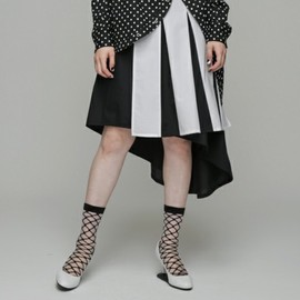 ANREALAGE - SHADOW TUCK SKIRT