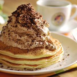 ホノルルコーヒー - Kona Coffee Cream Pancake