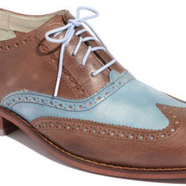 Cole Haan - Cole Haan Air Colton Wingtip Oxford in Brown for Men (chestnut/ ashley blue) - Lyst