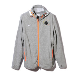 F.C.R.B. - SWEAT VENTILATION HOODY  GRAY