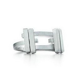 Tiffany & Co. - Frank Gehry Axis hoop ring
