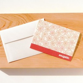 asugatic - SAKURA greeting card