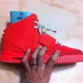 Nike - NIKE AIR YEEZY 2 RED SNAKE SAMPLE