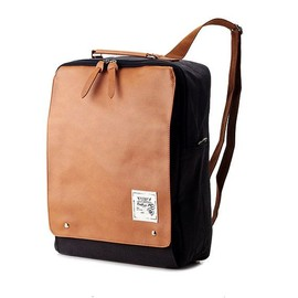 BagDori - New Square Backpack (Charcoal Gray)