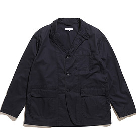 ENGINEERED GARMENTS - Loiter Jacket-High Count Twill-Dk.Navy
