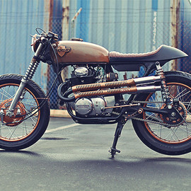 Chappell Customs - '72 Honda CB350
