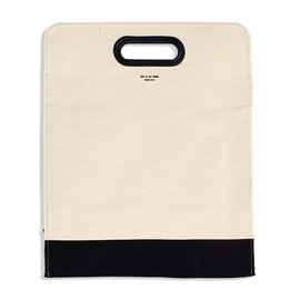UNIVERSAL PRODUCTS - A4 BAG/NATURAL×BLACK