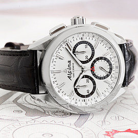 ALPINA - Alpiner 4 Manufacture flyback Chronograph(Cal.AL760)