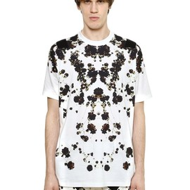 GIVENCHY - SS2015 FLORAL COLOMBIAN FIT COTTON T-SHIRT