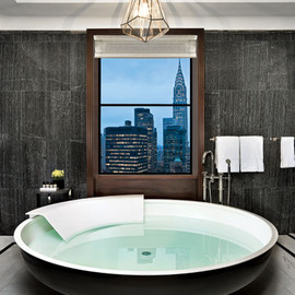 New York - A suite at the Waldorf Astoria