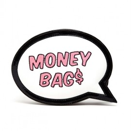 SOPHIA WEBSTER - 'Money Bags' Embroidered Leather Clutch