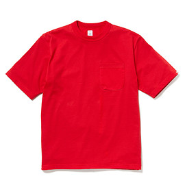 HEAD PORTER PLUS - POCKET TEE RED