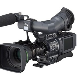 Victor - JVC GY-HD110U High Definition 3-CCD MiniDV Professional Camcorder with 16x ProHD Fujinon Lens