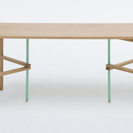 Soft Triangle low table Designed by TAF