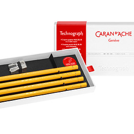CARAN D'ACHE - Pencil, Techno graph 100 Anniversary