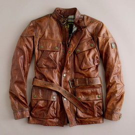 Belstaff - Leather Panther Jacket