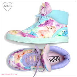 milk - LOVE BEAR SNEAKER