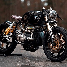 "NCT Motorcycles - ""Black Stallion""  BMW R100"