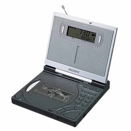 Sony - FM/AM CD CLOCK RADIO ICF-CD2000