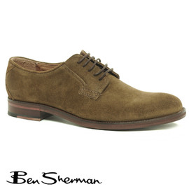 Ben Sherman - Arista Waxed Suede Shoes