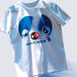 "T-SHIRTS AS MEDIA2012""Rockn' Arrow"" - DESIGN by 井上嗣也"