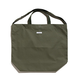 ENGINEERED GARMENTS - Carry All Tote-Acrylic Coated Cotton-Olive