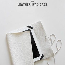 diy leather ipad case