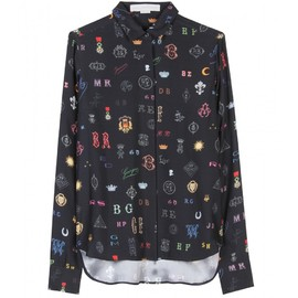 Stella McCartney - PRINTED SILK BLOUSE