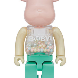 MEDICOM TOY - MY FIRST BE@RBRICK 1st COLOR PEARL COATING Ver.400%