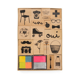zoe de las cases - Stamp Set