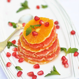 Citrus Salad with Pomegranates and Mint