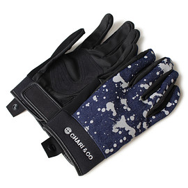 CHARI & CO - SMART GLOVE DENIM SPLATTER