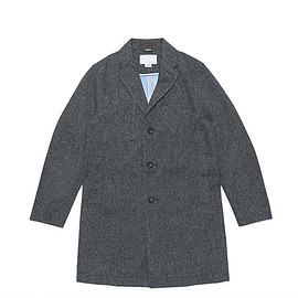 nanamica - GORE-TEX Chesterfield Coat-Mix Gray