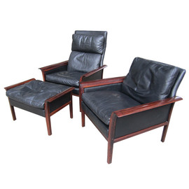 Bruksbo - Rosewood Chair